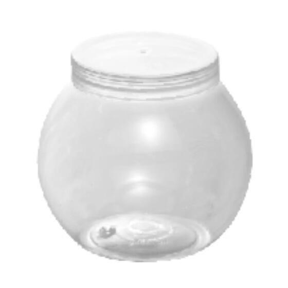7OZ Mini Pudding Cup Dessert Snack Bowl PET Plastic Round Ice Cream Bowl