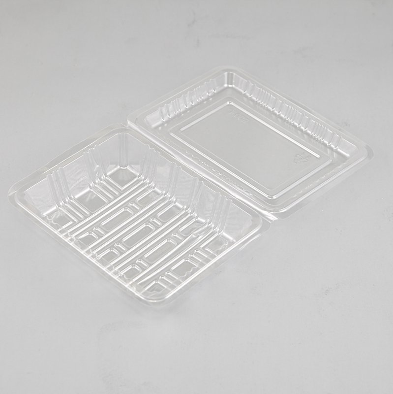 Clear Cake Pie Tart Slice Wedge Boxes Hinged Containers with Locking Snap