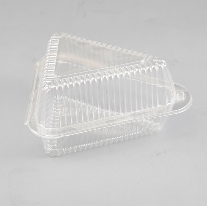 Plastic Sandwich Triangle Container Box Catering Takeaway Lunch Packing Case