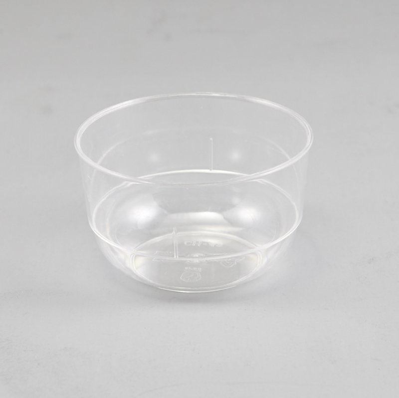 Round Plastic Pudding Snack  Cup Ice Cream Bowls For Party Home 180ml