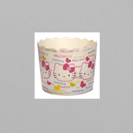 Hello Kitty Design PE Film Paper Cupcake CUP With Food Grade Material