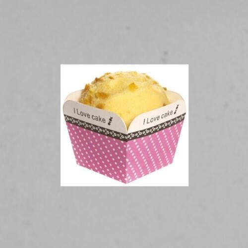 Different Color Square Cupcake Wrapper Paper Cake Case Baking Cups Liner DIY